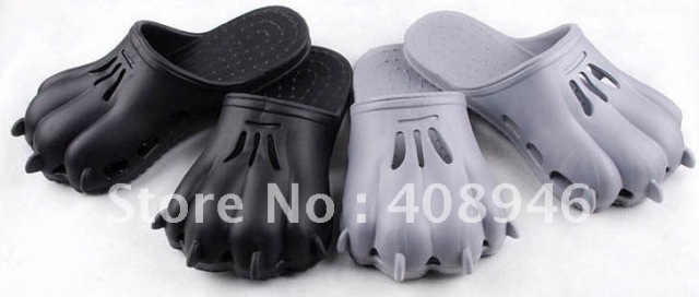 120054 PVC Slipper/comfortable interesting/PAWS slippers//free shipping