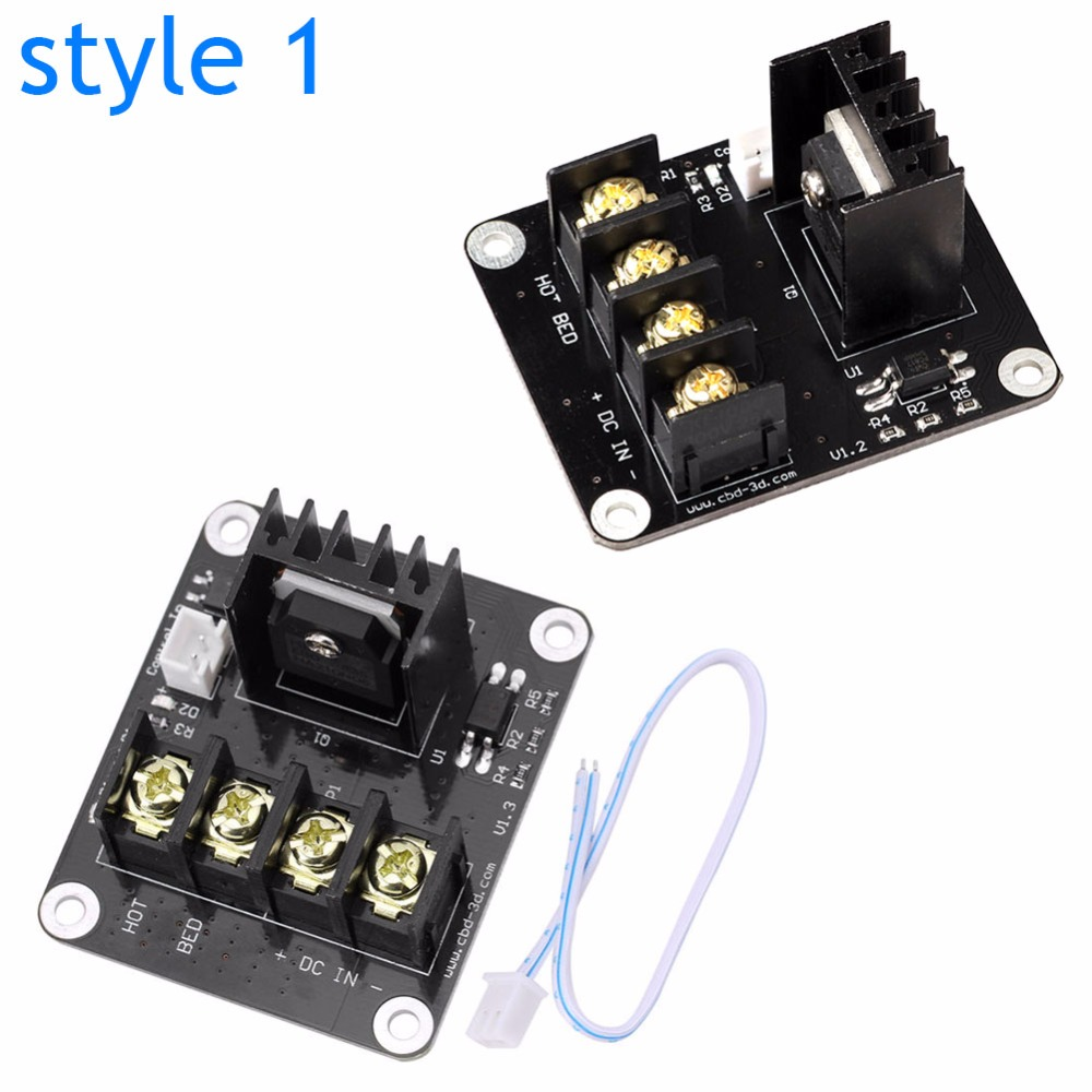 3D Printer Parts General Add on Heated Bed Power Expansion Module High Current 210A MOSFET Upgrade aliexpress com buy 3d printer parts general add on heated bed  at crackthecode.co