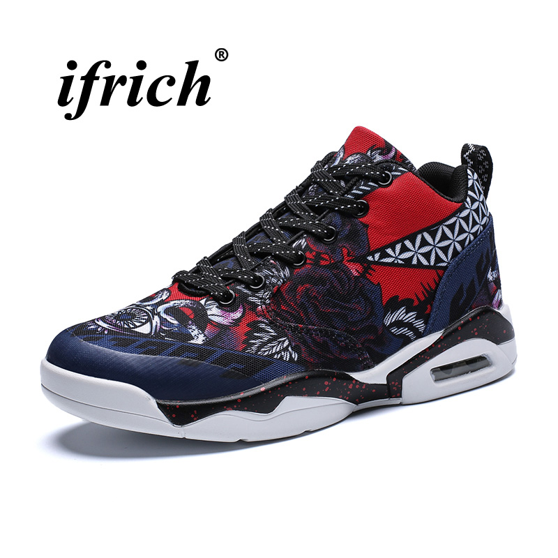 2018 Sport Running Shoes Men Women Blue Yellow Athletic Shoes Air Cushion Jogging Shoes Male Size 35-47 Couples Sports Trainers