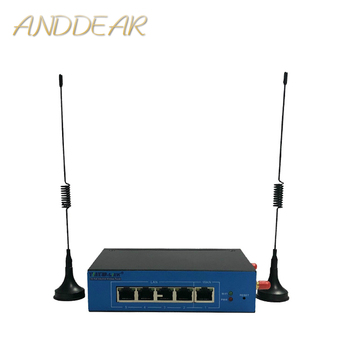 high speed 27dBm300M industrial DIN rail 4g 9341 ltewireless router support openwrt ODM/OEM serial RS/485industrial control WIFI