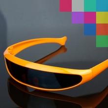 цена на X-men Individuality Sunglasses Mercury Lens Laser Glasses Travel Windproof Sun Glasses Robots Eyewear