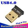 Mini CSR Adaptador USB Bluetooth V 4.0 Modo Dual Wireless Dongle Bluetooth USB 2.0/3.0 3 Mbps Para El Ordenador Portátil Windows Xp vista Windows 7 8