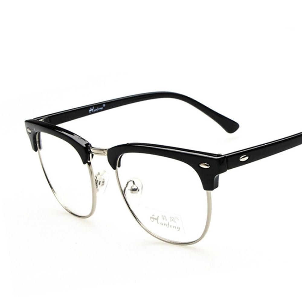 2017 Brand Designer Fashion Men S Eyeglasses Frame Vintage