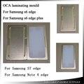 Molde de alumínio para samsung galaxy s6 edge/s6 edge oca plus/s7 edge/nota 4 Posicionamento e pressione O Alinhamento borda de Vidro LCD molde
