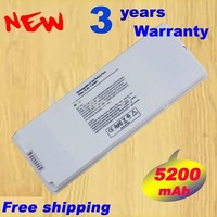 New Wholesale White 55Wh Laptop Battery For Apple MacBook 13 A1185 A1181 MA561 MA561FE A MA561G