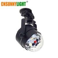 CNSUNNYLIGHT Auto Sound Control RGB LED Dekoration Atmosphäre DJ Lichter Laser Party Disco Club Bunte Wirkung Auto Lampe
