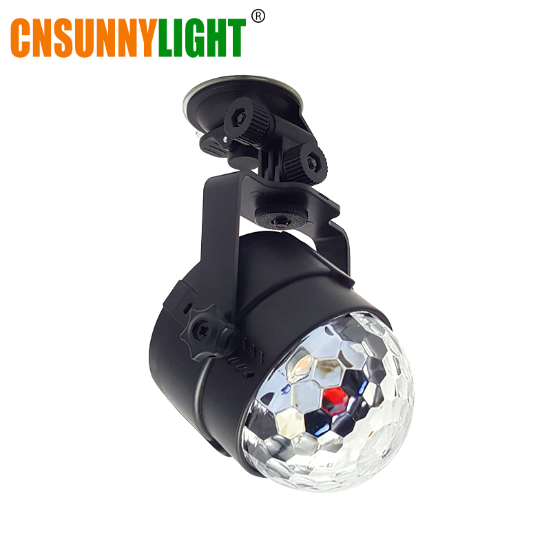 CNSUNNYLIGHT Car Music Sound Control RGB LED Decoration Atmosphere DJ Lights Laser Party Disco Club Colorful Effect Auto Lamp