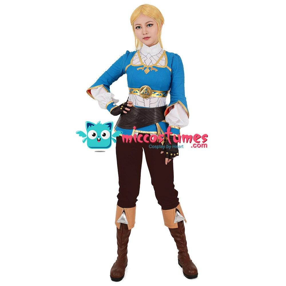 Zelda Botw Cosplay De Legend Of Zelda Adem Van De Wilde Prinses Zelda Cosplay Kostuum - 2