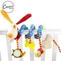 Cama Carrinho De Bebê recém-nascido de Pelúcia Bonito Dos Desenhos Animados Cão Pendurado Brinquedo Infantil Chocalho Agarrar Produtos Brinquedos Educativos Criança Berço Móvel