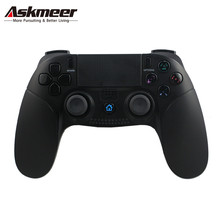 ASKMEER Wireless Bluetooth Gamepad with Touch Panel for Sony PlayStation 4 Joystick PS4 PS3 Console Controller