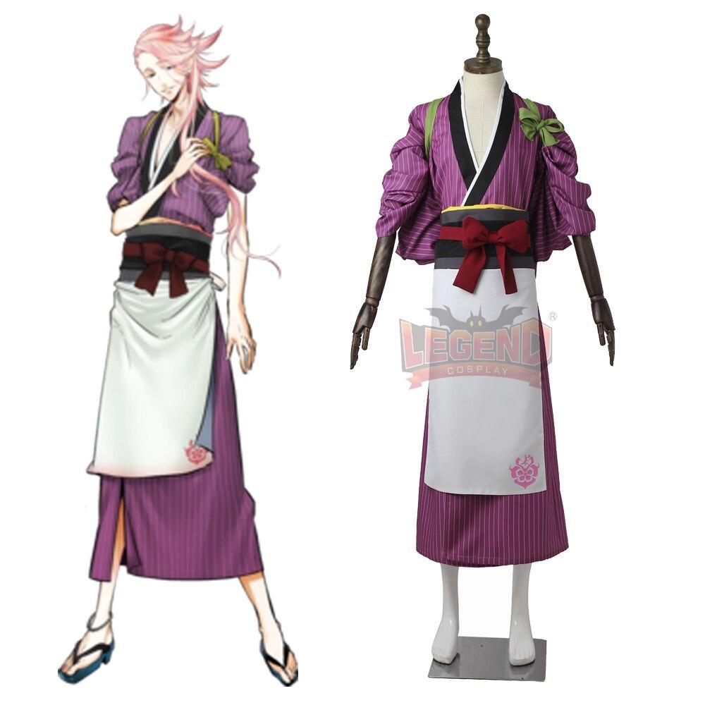 Touken Ranbu cosplay Online Souzasamonji Souza Samonji Cosplay adult costume casual wear full set all size custom made