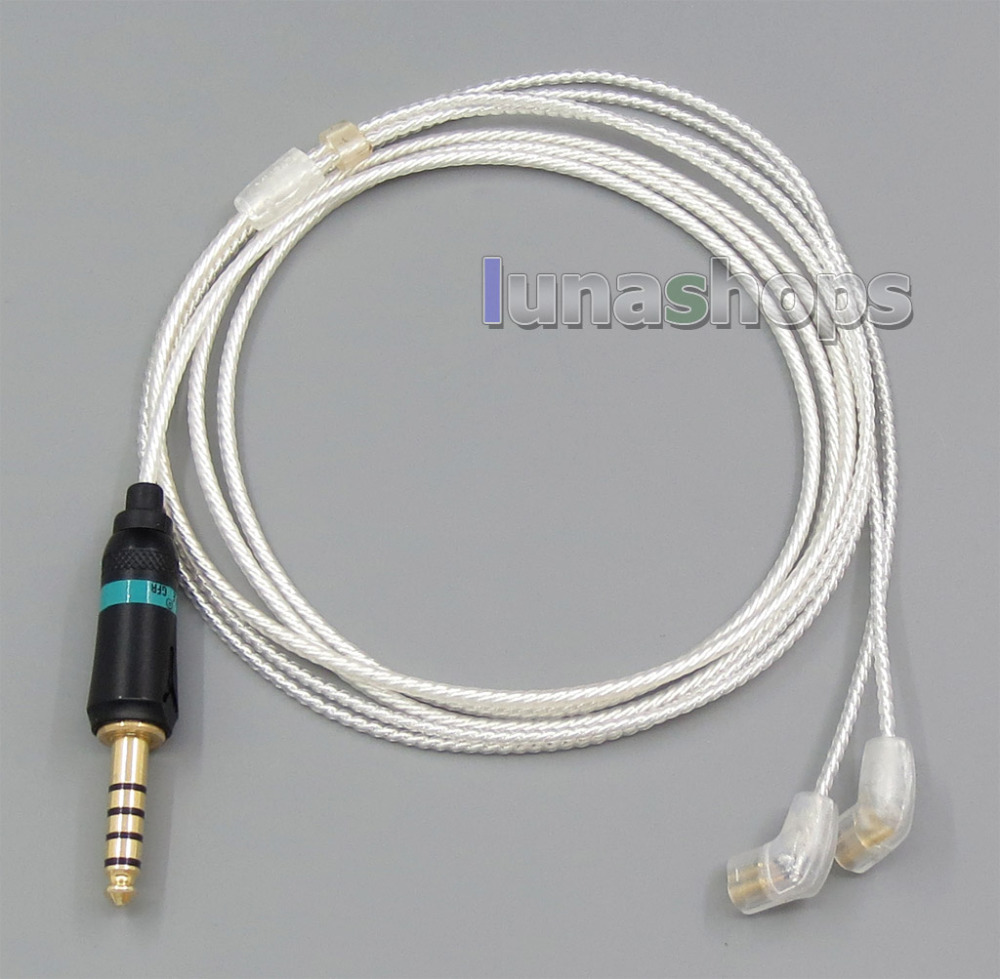 4.4mm Earphone cable for Sony PHA-2A TA-ZH1ES NW-WM1Z NW-WM1A AMP Player Ultimate UE UE18PRO 11PRO 10PRO 7PRO 4PRO