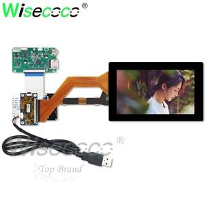 2560*1440 5.5 polegada 2 k tela lcd com painel de toque capactive hdmi mipi usb placa de controle