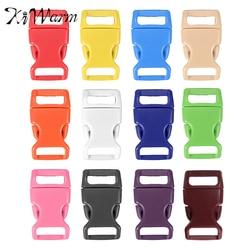 10pcs set plastic contoured side release buckles clasps for paracord bracelet backpacks clothes bags decor 15mm.jpg 250x250