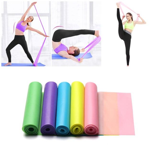 Gumki recepturki sprzęt Fitness trening siłowy elastyczne zespoły oporu Pilates siłownia sport joga trening Crossfit rozciąganie