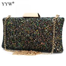 7c484cc2d6 YYW Wholesale Sequins Shoulder Plastic Handbag Fashion Clutch Bag Beautiful Evening  Bag For Women Bolsos De