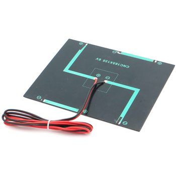 6V3.5W Solar Power Generation Droplet Panel + 100CM Red and Black Line DIY Made Customized Solar Panels