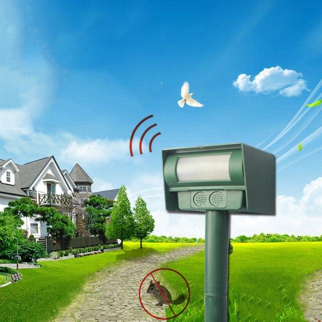 Kızılötesi Güneş Kovucu Avlu Bahçe Çim Fare Elektronik Sürücü 2019 Yeni Varış Bahçe Çim Fare Elektronik Sürücü Araçları