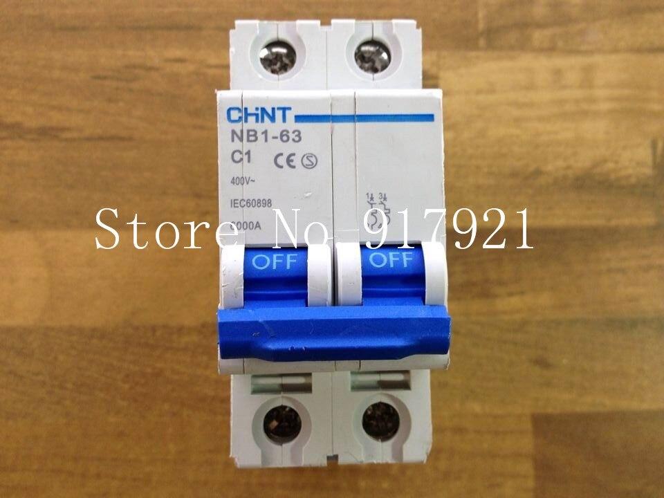 [ZOB] CHINT CHNT NB1-63 C1 circuit breaker 2P1A to ensure genuine --10pcs/lot