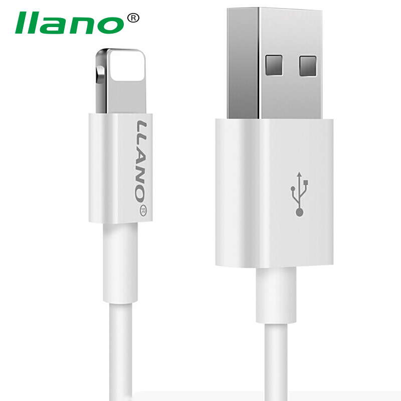 llano USB Charge Cable for iPhone Fast Data Transfer Cable for iPhone 8 7 6s Plus 5 5s SE iPad Mini