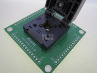 클램 쉘 qfn56/dip vqfn56 mlf56 8*8mm 간격 0.5mm enplas ic 연소 시트 어댑터 테스트 시트 테스트 소켓 테스트 벤치