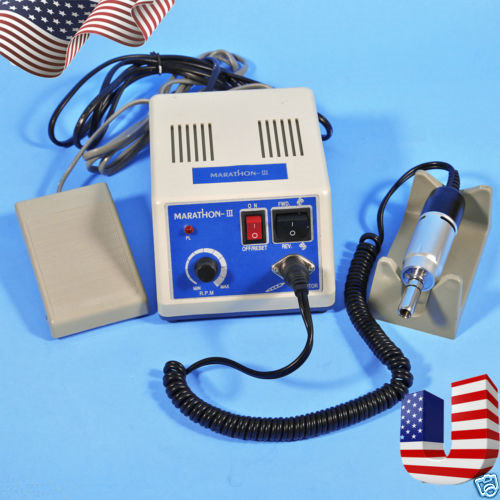 Dental MARATHON Contral Unit Micromotor Machine N3 + Electric Motor 35K RPM Polishing dental lab marathon micromotor machine n3 35k rpm electric motor gold
