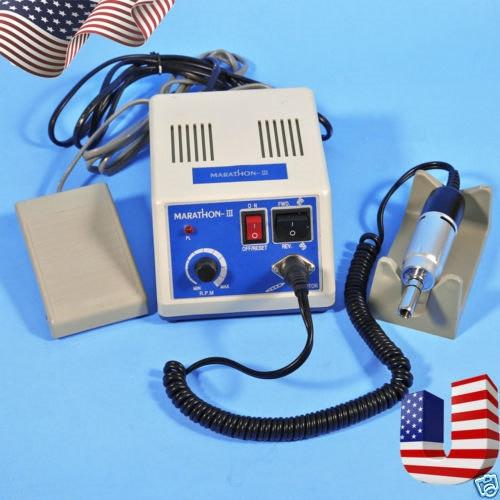 Dental MARATHON Contral Unit Micromotor Machine N3 + Electric Motor 35K RPM Polishing
