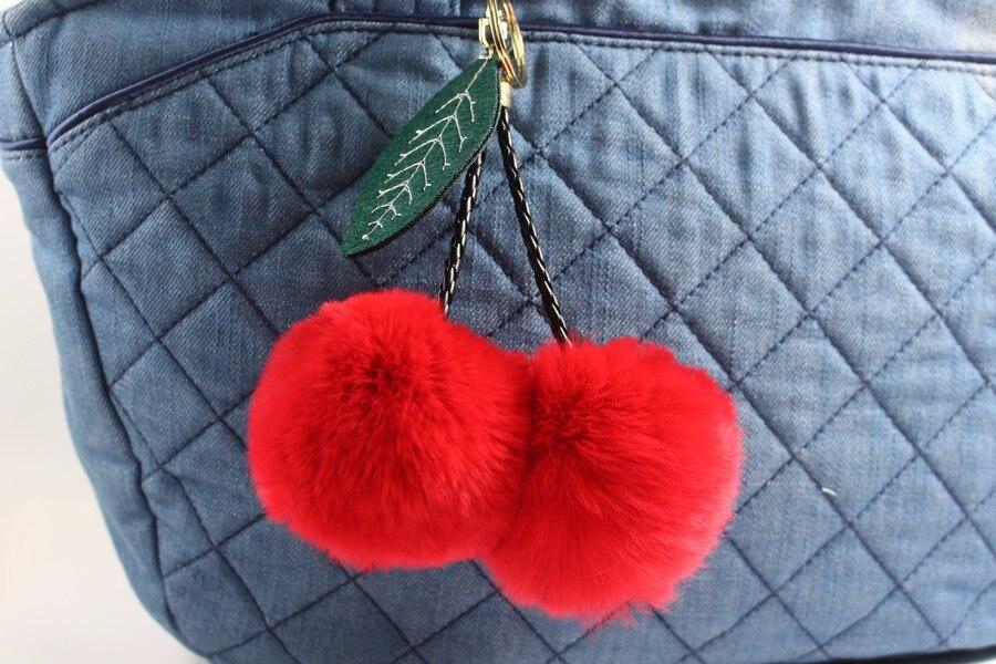 Fur Ball Keychain 09