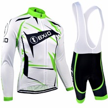 Bxio Long Sleeve Cycling Sets Mountain Bike Clothing Maillot Ciclismo Italie Pro Bicycle Jersey Cuissard Cycliste Equipe 031