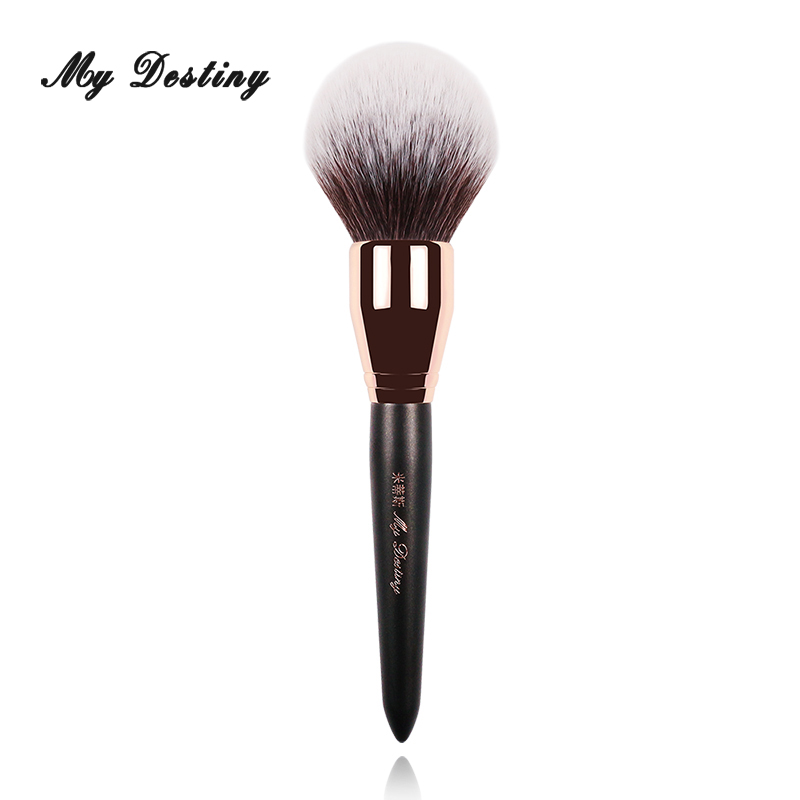 MY DESTINY Large Round Loose Powder Brush Professional Make Up Makeup Brushes Pincel Maquiagem Brochas Maquillaje Pinceaux 010 energy brand weasel concealer brush makeup brushes make up brush pinceaux maquillage brochas maquillaje pincel maquiagem m101
