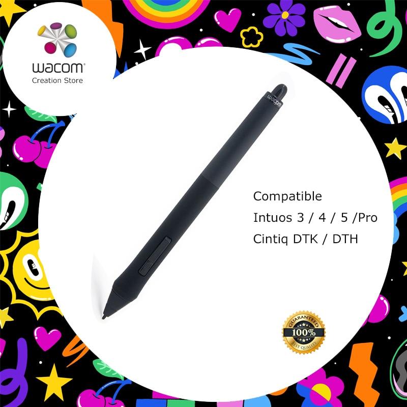 Stylo de remplacement Wacom Grip Pen (KP-501E) pour tablettes de la série Wacom Intuos 3/4/5 Intuos Pro Cintiq