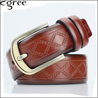 100 Genuine Leather Belt Men Brown And Black Color Luxury Brand Leather Belts For Jeans For