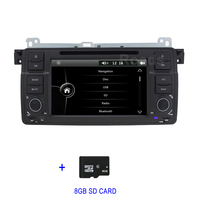 Car DVD Multimedia Player for BMW E46 M3 with Radio Canbus BT GPS USB