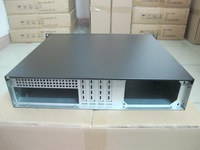 2U390 short chassis 2U industrial control server firewall computer case ATX motherboard installed PC power supply case