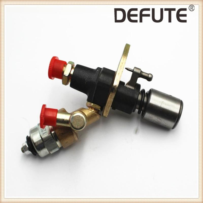 Kraftstoff Injektor Pumpe mit Magnetventil 170F 178F 186FA 188F 192F fule pumpe mit elektromagnetische ventil