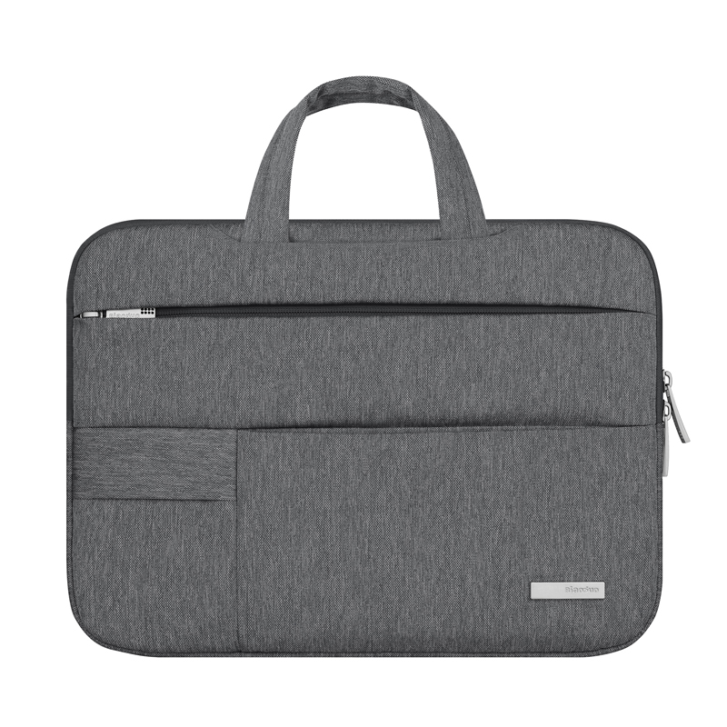 Image 3 - 13 14 15.6 Man Felt Shoulder Handbag Notebook Laptop Sleeve Bag Pouch Case For Xiaomi Acer Dell HP Asus Lenovo Macbook Pro Air-in Laptop Bags & Cases from Computer & Office