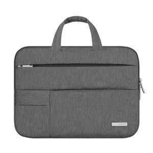 Image 3 - 13 14 15.6 Man Felt Shoulder Handbag Notebook Laptop Sleeve Bag Pouch Case For Xiaomi Acer Dell HP Asus Lenovo Macbook Pro Air