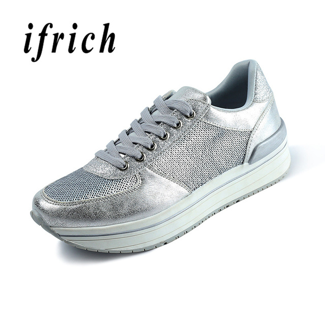 Running Shoes Womens Rubber Sole Jogging Walking Shoes Ladies Comfortable Athletic Sneakers Girls Silver Black Women Shoes Gym