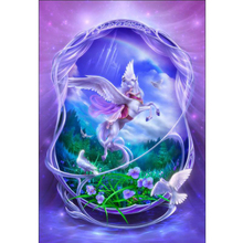Beautiful Pegasus diamond Embroidery diy painting mosaic diamant 3d cross stitch pictures H402