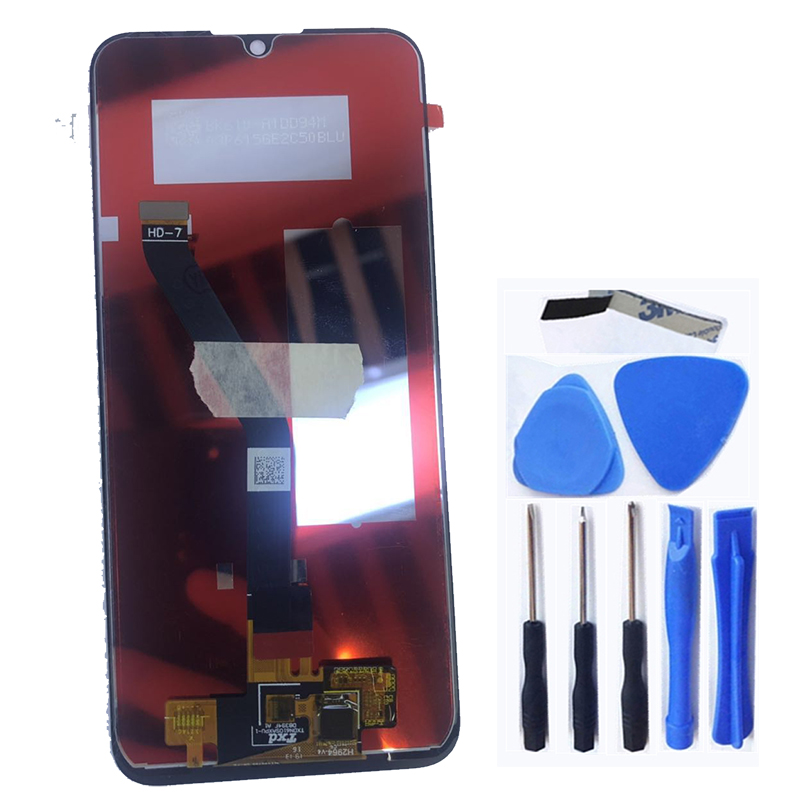 Image 2 - 6,01 ''Новый lcd для Huawei Y6 Pro 2019 Y6 Prime 2019 lcd сенсорный экран дигитайзер сборка для Y6 2019 дисплей ремонтный комплект-in ЖК-экраны для мобильного телефона from Мобильные телефоны и телекоммуникации