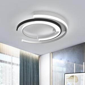 Image 4 - Lampadario di Illuminazione per soggiorno camera Da Letto AC85 265V Moderna Lampadari Lustre Rotondo di Alluminio Lampadario A Bracci del Soffitto