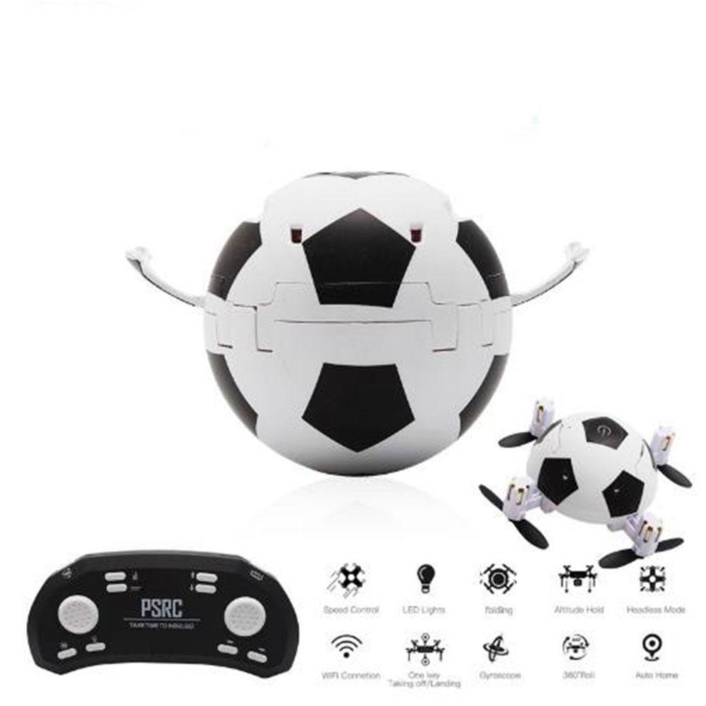 LeadingStar 2018 Футбол игры складного Радиоуправляемый Дрон 3D переворачивает одним из ключевых снять посадка Безголовый RC Quadcopter вертолет по- 2 ...