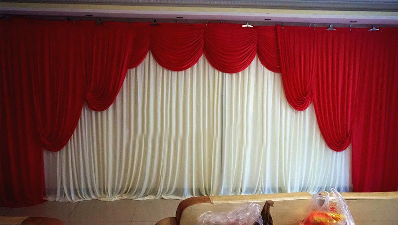 Wedding Backdrop Curtain D