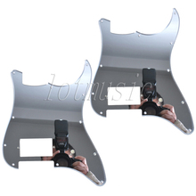 2шт зеркало поверхности электрогитара накладка для типа замены 11 отверстие