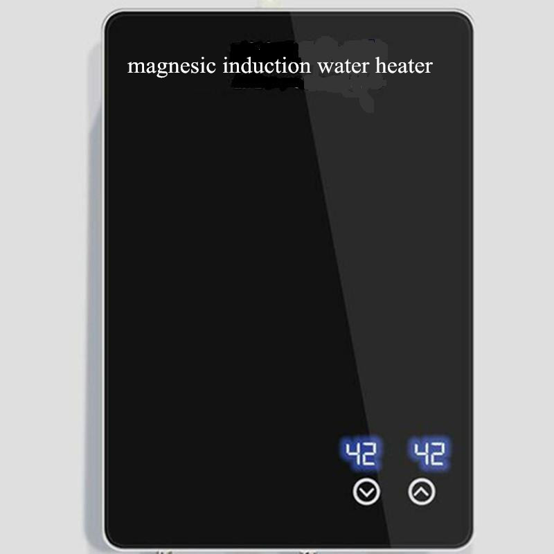 6000W instant electric hot water induction heater 220V Electric tankless induction heater Shower with endless hot water heating