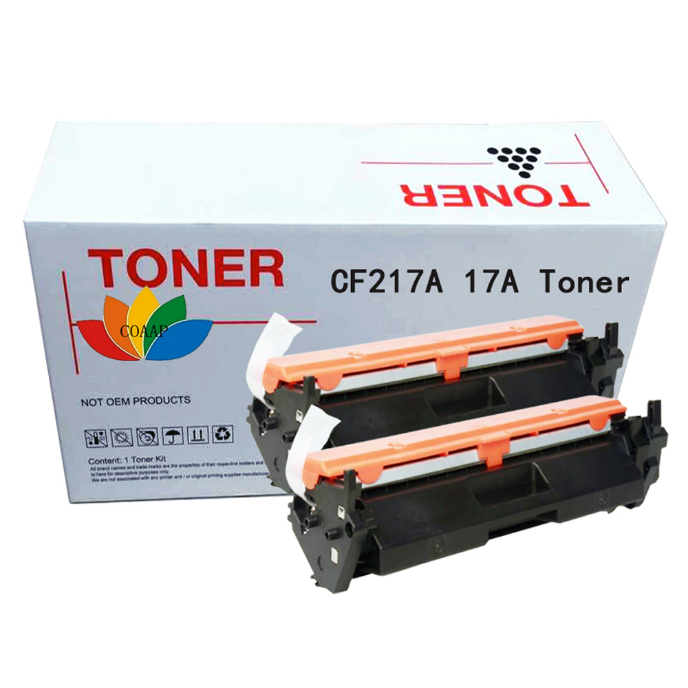 2x CF217A 17A 217A Toner Cartridge Compatible for HP LaserJet Pro M102a M102w MFP M130a M130fn M130fw M130nw Printer no chip lcl 130a cf350a cf351a cf352a cf353a 5 pack compatible laser toner cartridge for hp color laserjet pro mfp m176n m177fw