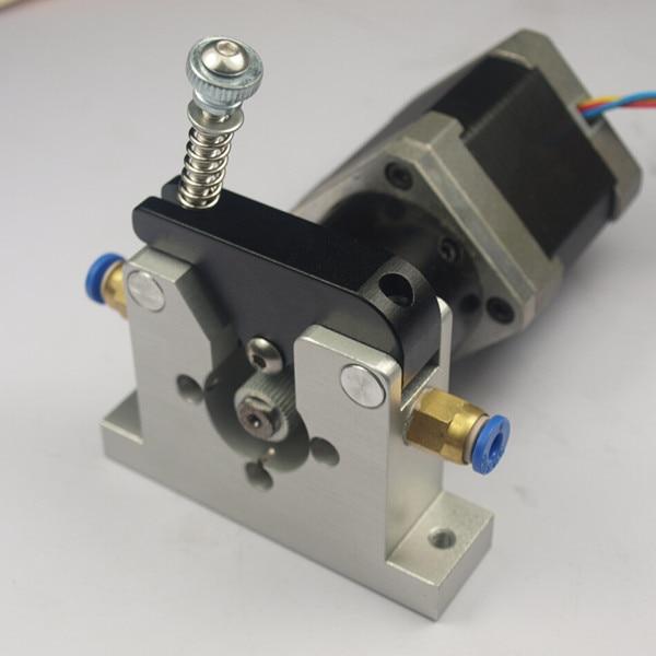 ФОТО 3 D printer parts DIY Reprap Kossel all-metal planet reducer motor bowden extruder alimunum alloy for 1.75/3 mm filament