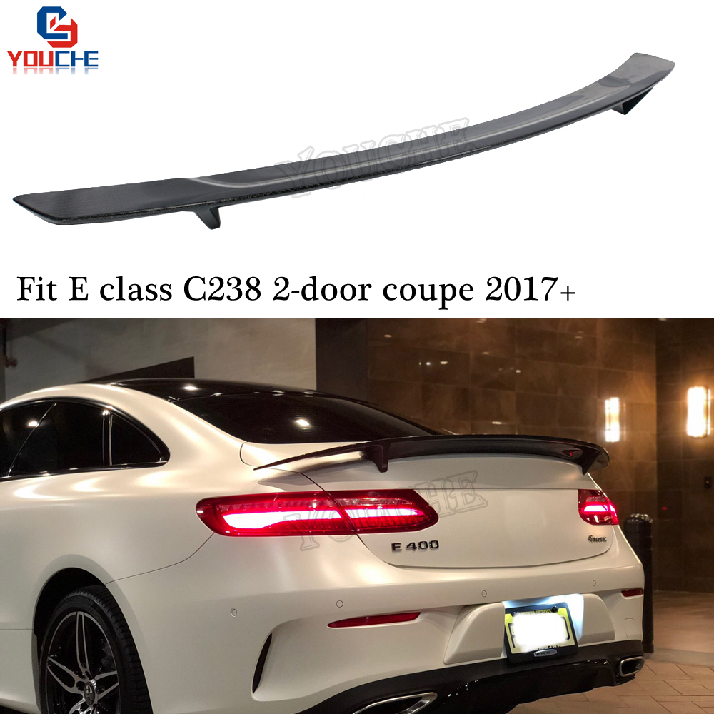 mercedes c238 w238 carbon fiber rear spoiler trunk wing. Black Bedroom Furniture Sets. Home Design Ideas