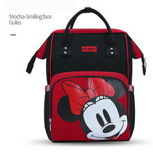 Disney Mother Bag Multi-Function Nappy Baby USB Bottle Insulation Maternity Large Capacity Diaper Backpack  mommy bag
