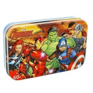 Image 3 - Marvel Avengers Spiderman Autos Disney Pixar Autos 2 Autos 3 Puzzle Spielzeug Kinder Holz Puzzles Spielzeug für Kinder Geschenk